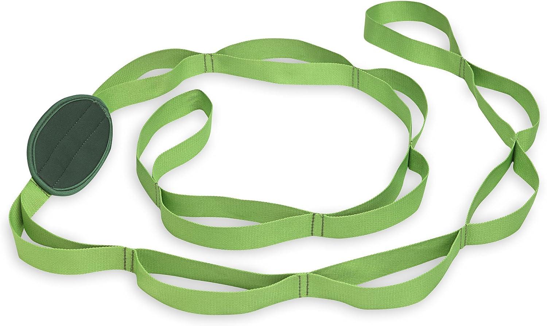 Gaiam Restore Multi-Grip Stretch Strap Green, 1 EA