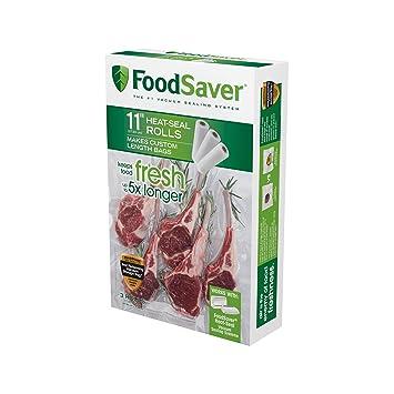 Amazon.com: Rollo de bolsas transparentes para cocina ...