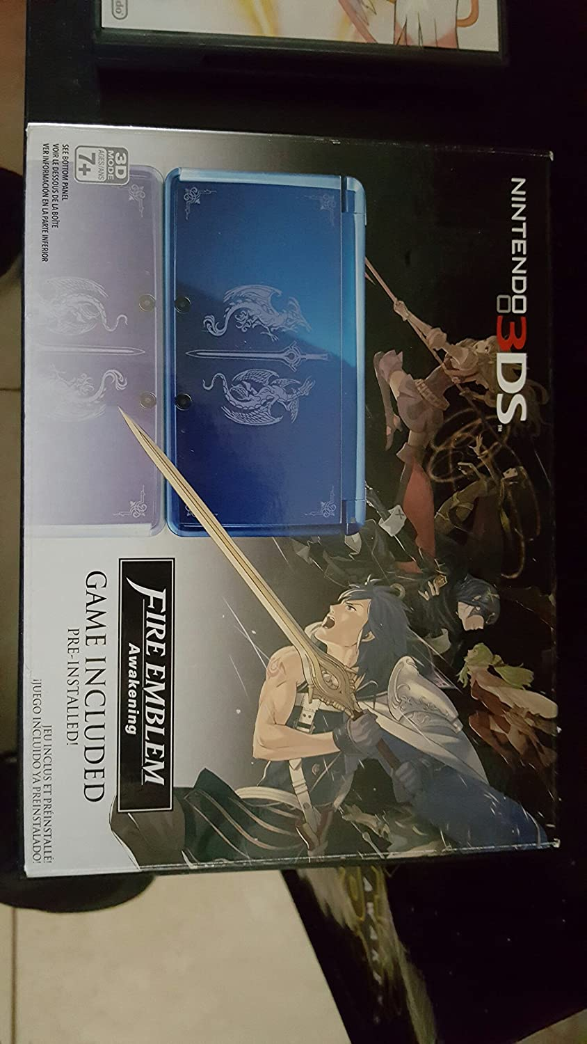 Nintendo 3DS Blue – Limited Edition with Fire Emblem Awakening Pre-Installed