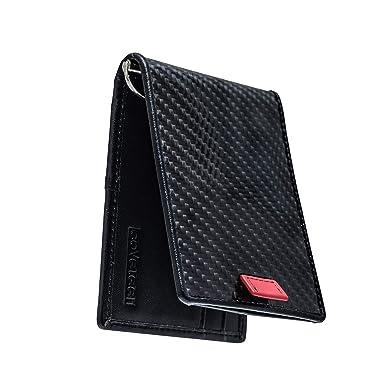 e9b8342481b Premium Carbon Fiber Wallet with Money Clip