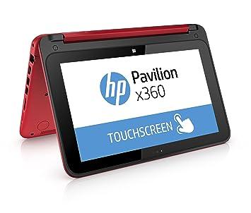 HP Pavilion x360 11-n000nf PC portable tactile 11,6 quot  Rouge (Intel beb8d24ac810