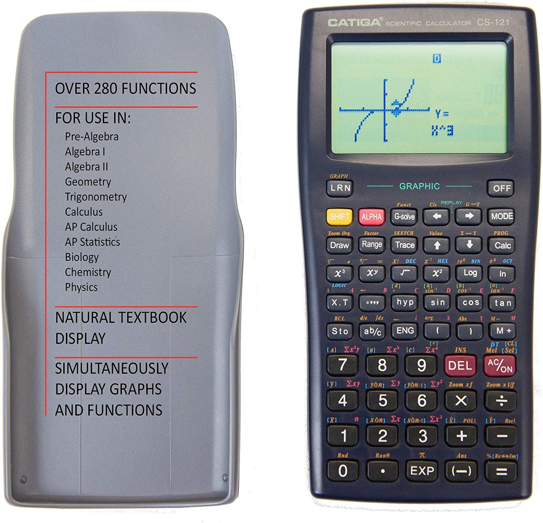 Scientific and Engineering Calculator Scientific Graphic Calculator Programmable System CATIGA CS121