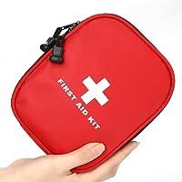 Ucradle Erste Hilfe Set 143-teilig mit medizinischen Notfall (CPR-Maske und Schere) und Überlebensanlage für Anto,Outdoor, Zuhause (Grün)