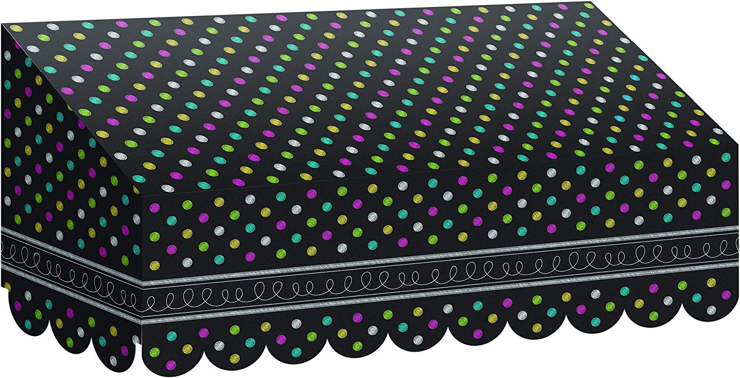 Teacher Created Resources Chalkboard Brights Awning (77184)