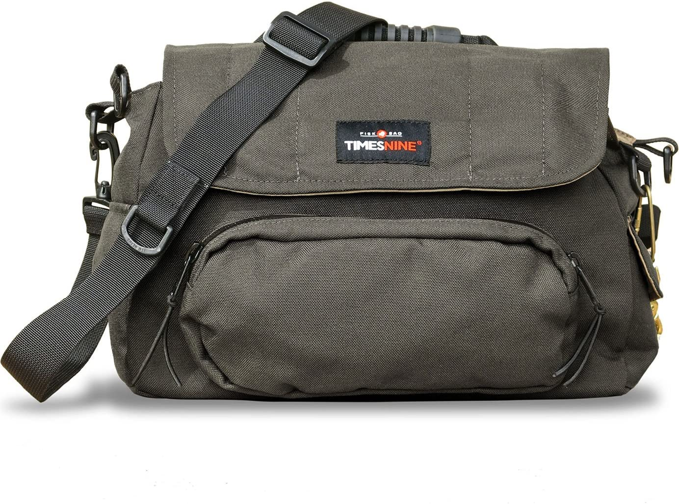 TimesNine Fisk Bag, Fly Fishing Bag with Rod Holder