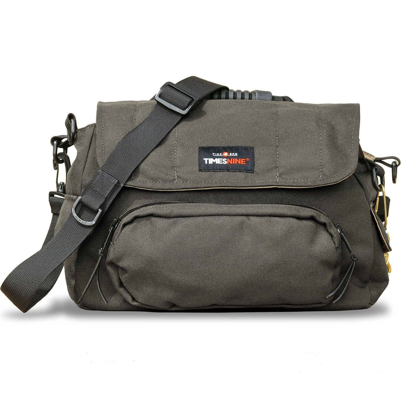 FISK BAG, Fly Fishing Bag with Rod Holder by TimesNine