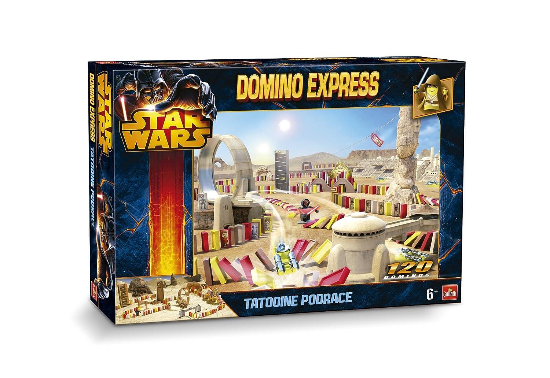 DOMINO EXPRESS STAR WARS TATTOINE PODRACE Gioco di costruzione