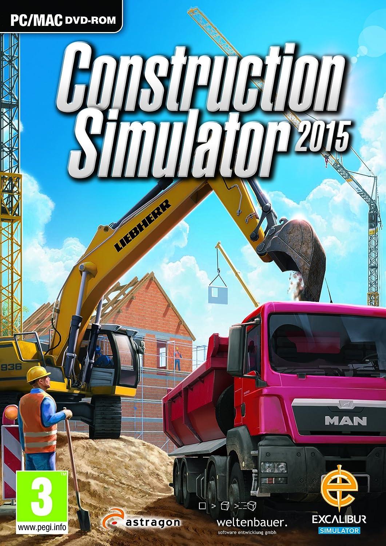 Construction Simulator 2015 (PC DVD/MAC): Amazon co uk: PC