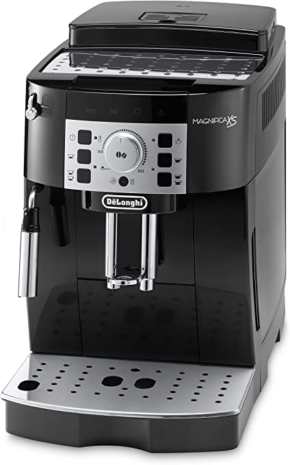 DeLonghi ECAM22110B Super Automatic Espresso, Latte and Cappuccino Machine, Black - Renewed