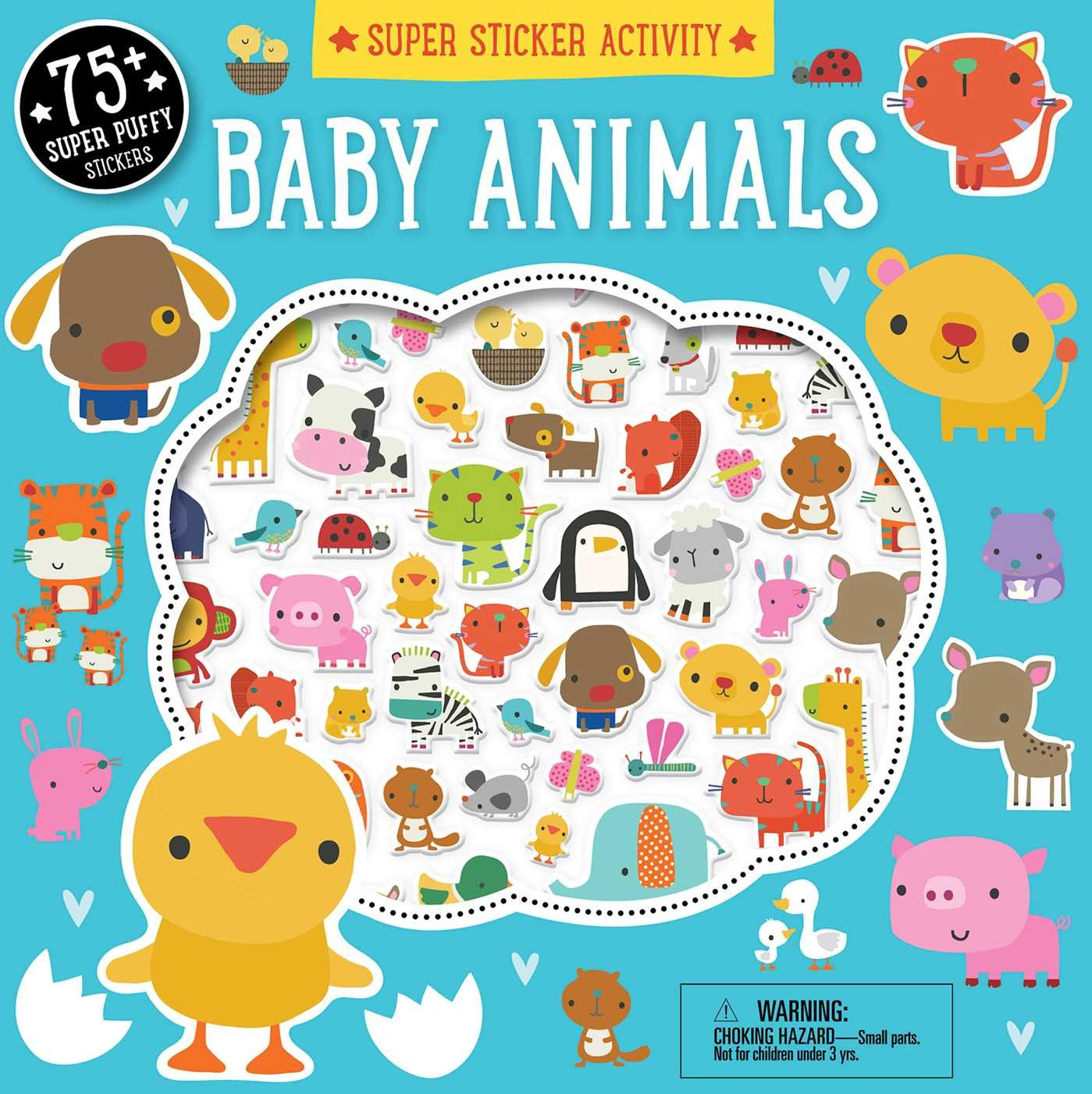 Download Super Sticker Activity: Baby Animals PDF