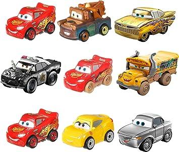 Disney Cars Pack de 3 mini vehículos, modelos surtidos, coches de ...