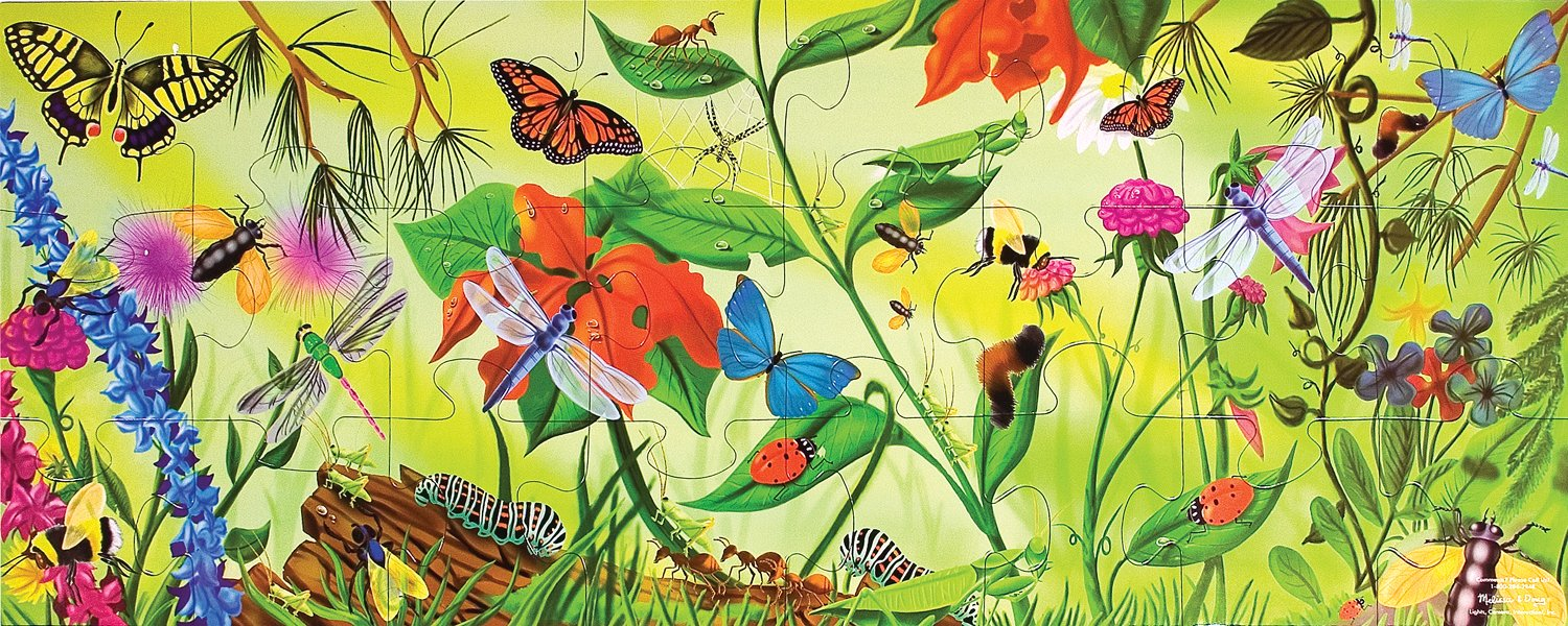 Melissa  Doug Bugs 24pc Floor Puzzle by Melissa  Doug