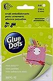 Glue Dots 3/16-Inch Mini Dot Roll, 300-Clear Dots