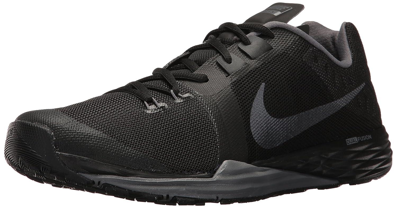 NIKE Men's Train Prime Iron DF Cross Trainer Shoes B01FZ2YVHA 8 D(M) US|Black/Metallic Hematite/Dark Grey