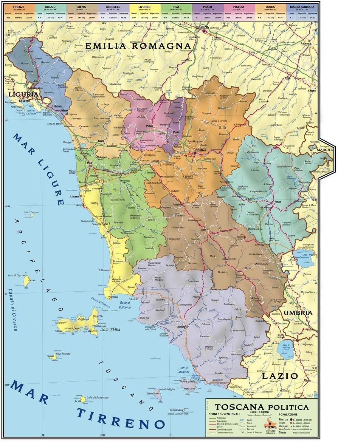 Immagini Cartina Toscana.Carta Geografica Murale Regionale Toscana 100x140 Bifacciale Fisica E Politica Amazon It Cancelleria E Prodotti Per Ufficio