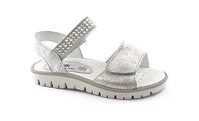 neueste art zeitloses Design verschiedene Stile PRIMIGI 1382500 31/35 Silber Schuhe Sandalen Mädchen Tränen ...