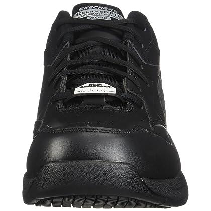 27d7589152f ... Skechers for Work Men s Felton Slip Resistant Relaxed-Fit Work Shoe ...
