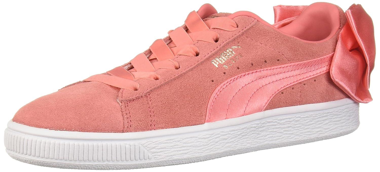 PUMA Women's Suede Bow Wn Sneaker B0753YVVZL 11 B(M) US|Shell Pink-shell Pink