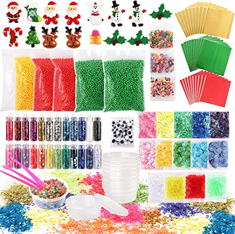 3 Glitter Eyeball Ornament Craft Kit Full set of 4 Self-Adhesive Great Fun!!