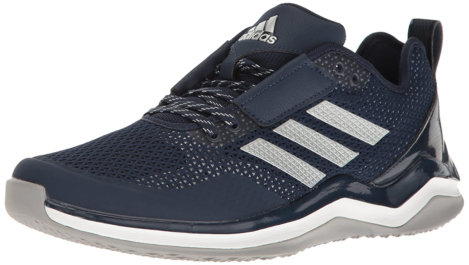 adidas メンズ Speed Trainer 3.0 B01LWYNA84 12 D(M) US|Collegiate Navy/Metallic Silver/White Collegiate Navy/Metallic Silver/White 12 D(M) US