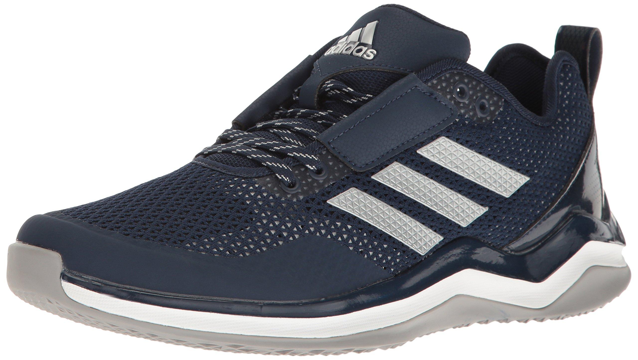 adidas Performance Men's Speed 3.0 Cross-Trainer Shoes, Collegiate Navy/Metallic Silver/White, (16 M US)