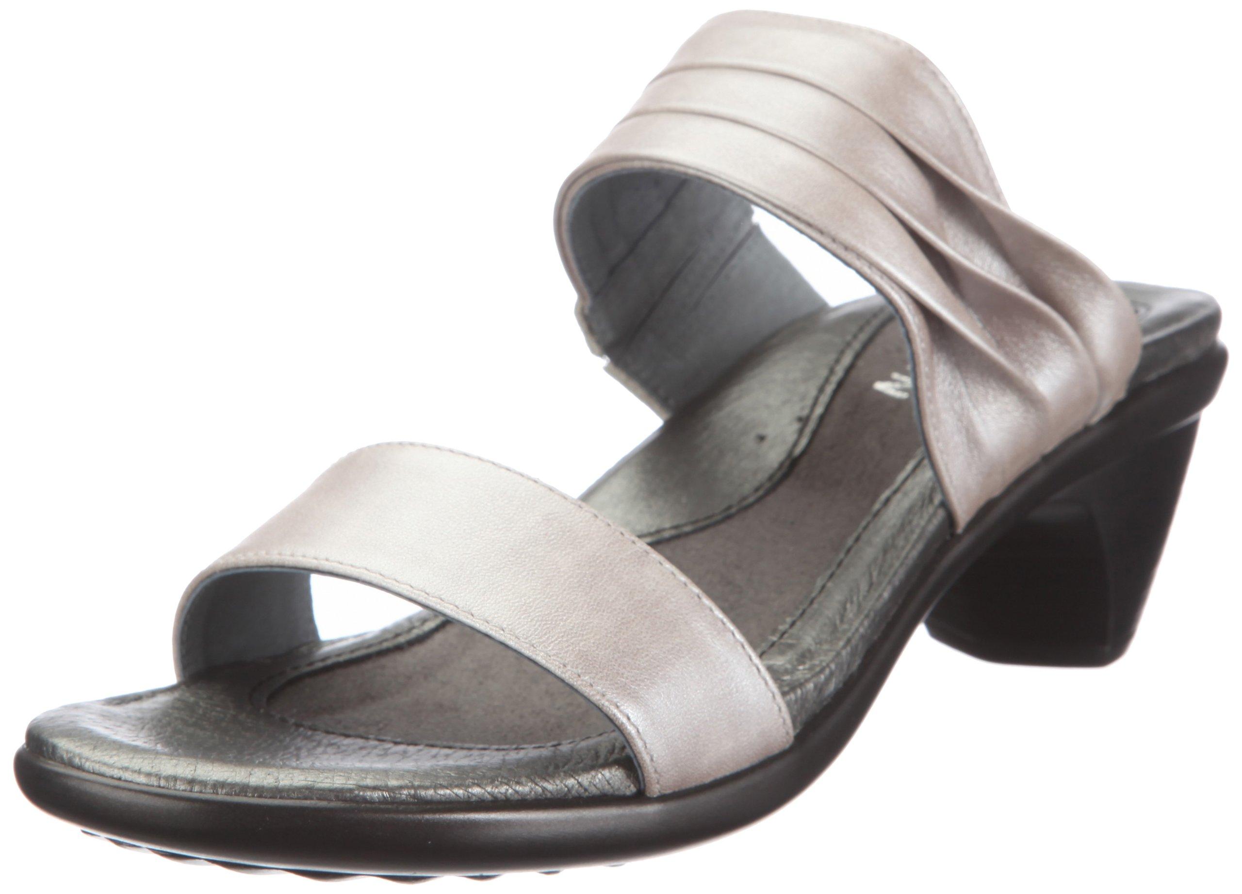 Naot Women's Isis Wedge Sandal, Quartz Leather, 35 EU/4.5-5 M US