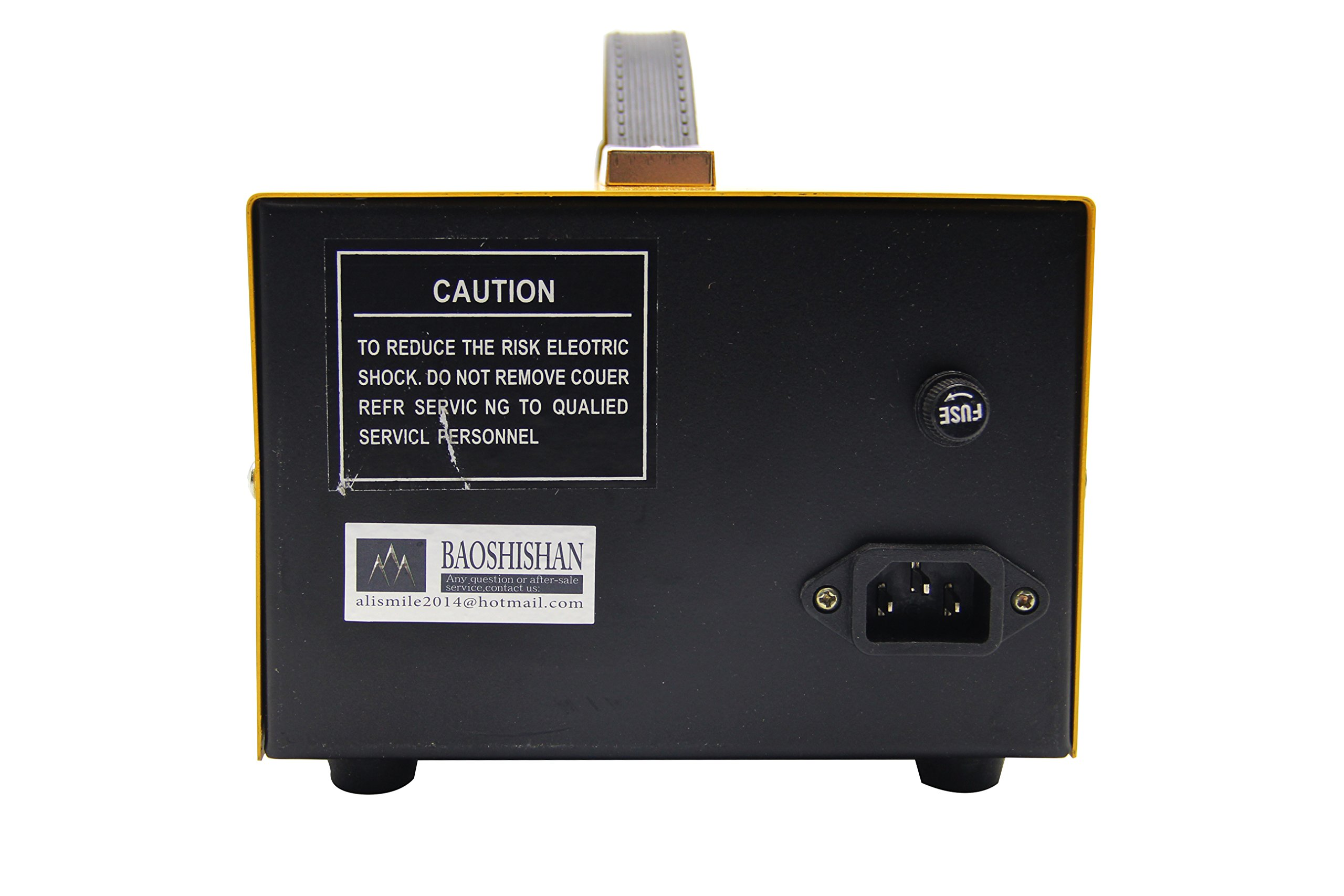 Pulse Sparkle Spot Welding Machine 200W Jewelry Welder for Necklace Gold Silver Platinum 110V by BAOSHISHAN (Image #5)