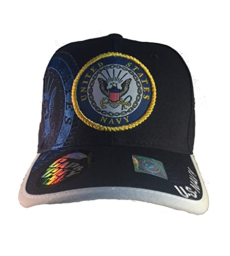 625639df325 Image Unavailable. Image not available for. Color  EZ Gifts Officially  Licensed US Navy Military Baseball Cap ...