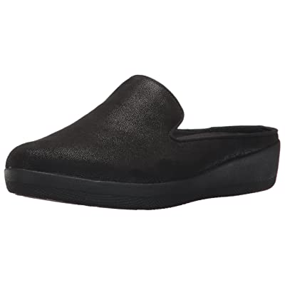 Amazon.com | FitFlop Women's Superskate Shimmersuede Slip-on Mules | Mules & Clogs