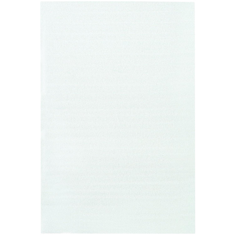 White Pack of 50 BOX USA BFP2436 Flush Cut Foam Pouches 24 x 36