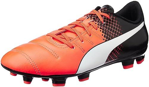 Puma Ep 1.3 Fg F6 Scarpe da Calcio Uomo Rosso Red/Wht/Blk 42 EU