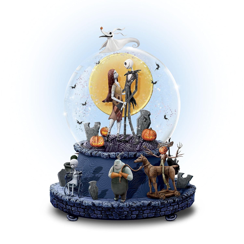 Disney \'The Nightmare Before Christmas\' Glitter Globe: Amazon.co.uk ...