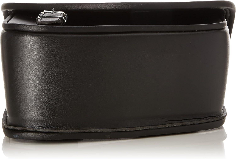 30 cm Nero Customaccess AP0005N Bisaccia di Cuoio