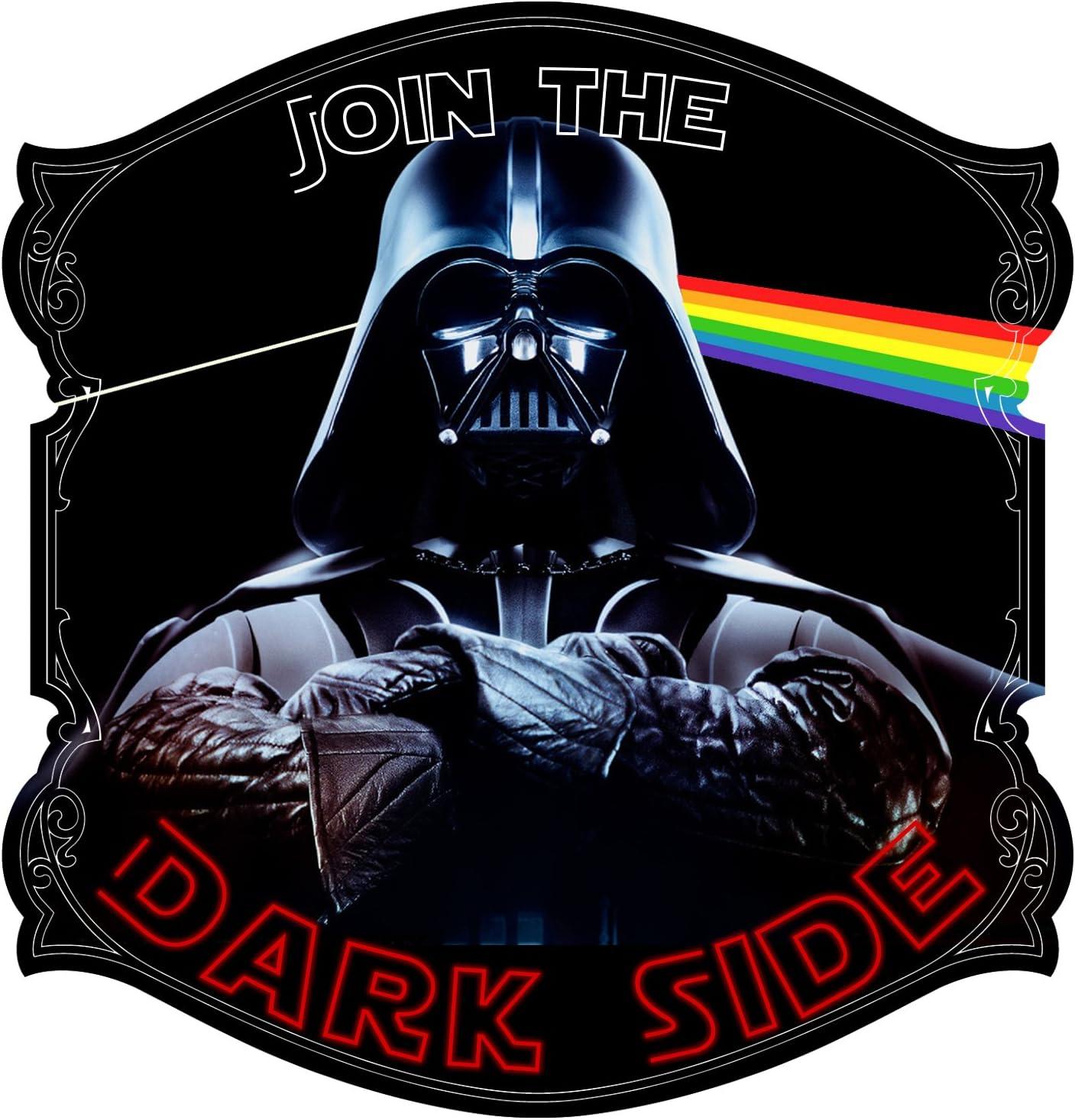 """Decal Serpent Join The Dark Side Text Parody Album Vader Sticker 5"""""""