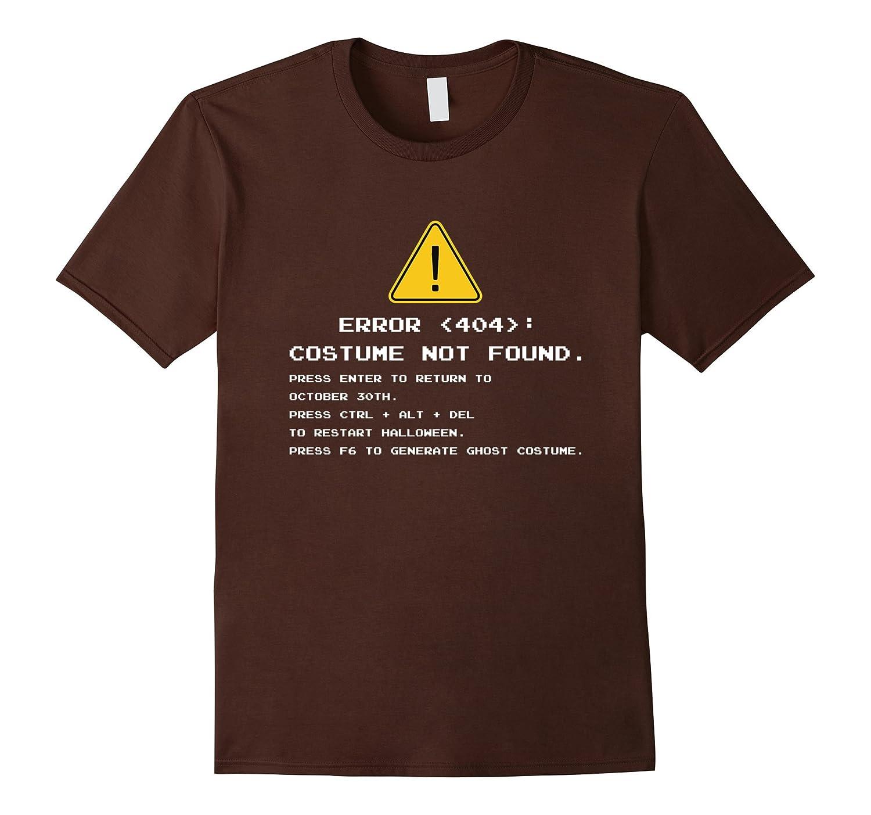 error 404 halloween costume not found t shirt anz