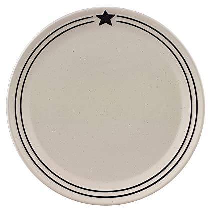 Country Star Dinner Plate - Set of 4  sc 1 st  Amazon.com & Amazon.com | Country Star Dinner Plate - Set of 4: Dinner Plates