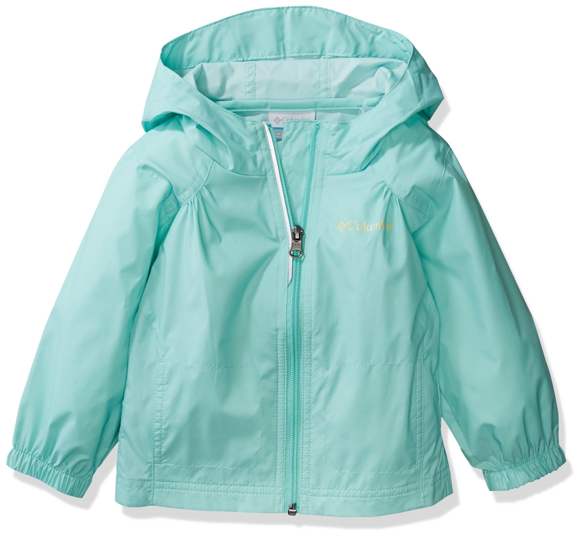 Columbia Girls' Little Switchback Rain Jacket, Pixie, XX-Small