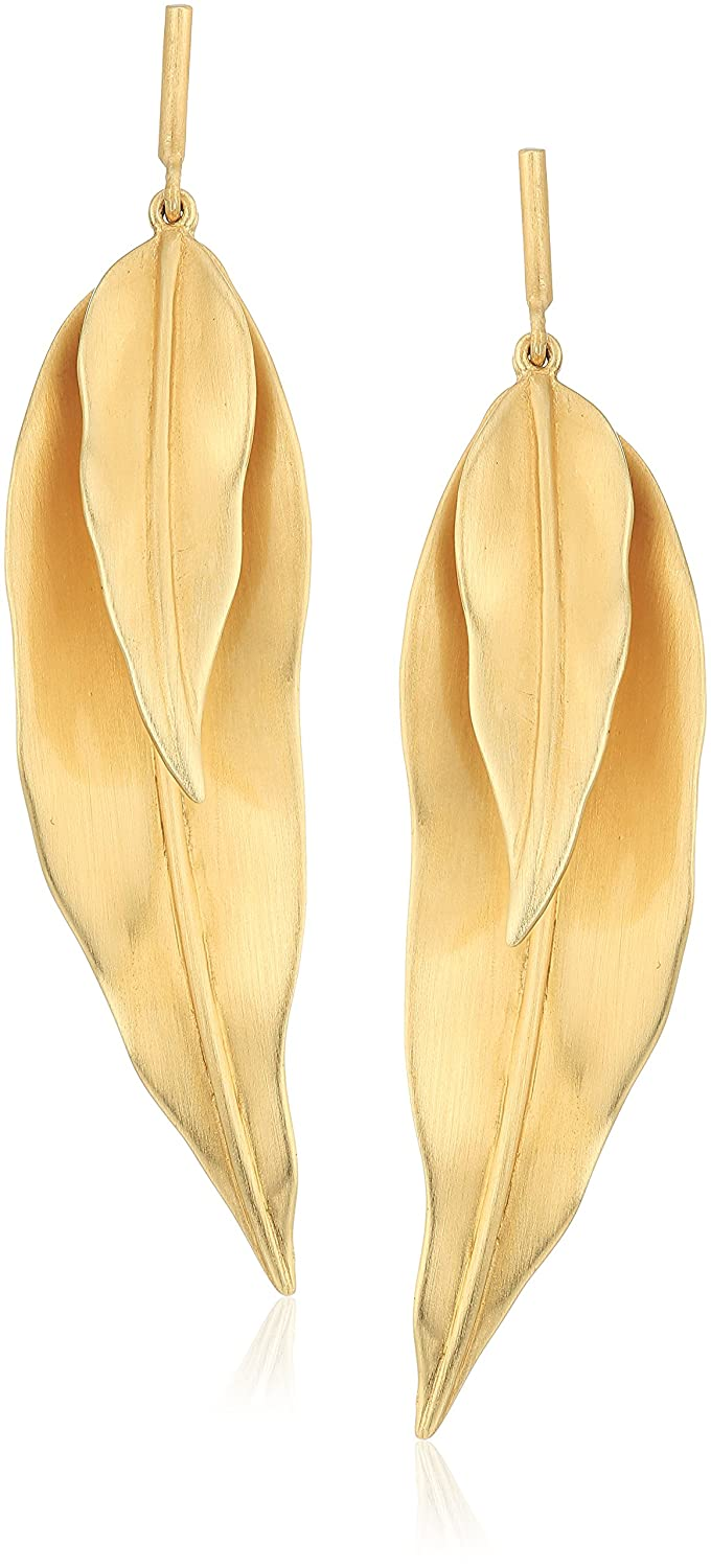 Elizabeth And James Lillia Drop Earring, Gold Clover II Corporation 8E7524AV