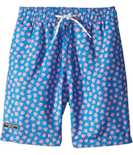 Infant//Toddler Shade Critters Baby Boys Embroidered Palms Swim Trunks