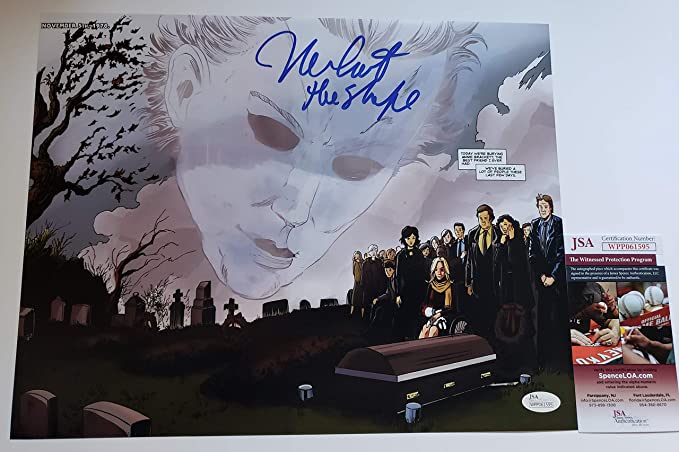 Nick Castle autographed 11x17 photograph Halloween Michael Myers H1