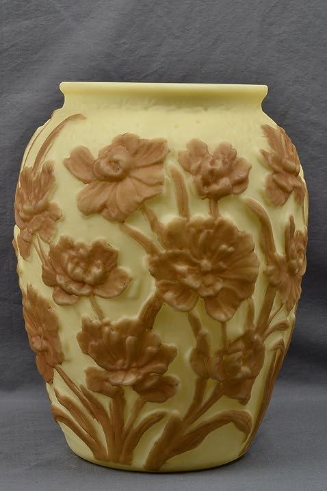 Amazon Phoenix Glass Vase Custard Flower Vase Home Kitchen
