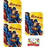 Amazon Com Man Of Steel Superman Party Invitations Thank You