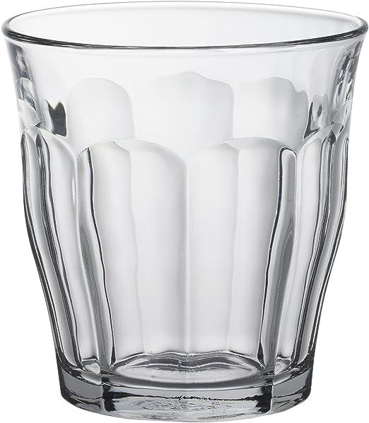 Duralex Picardie - Juego de 6 vasos de vidrio de 31cl: Amazon.es ...
