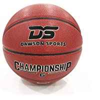 DAWSON SPORTS Unisex Adult DS PU Championship Basketball (113026) - Brown, Size 6