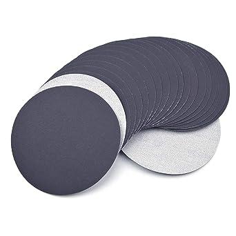 """20x 6/""""150mm 240Grit Sanding Discs Hook/&Loop Backed Sanding Pad Sandpaper"""