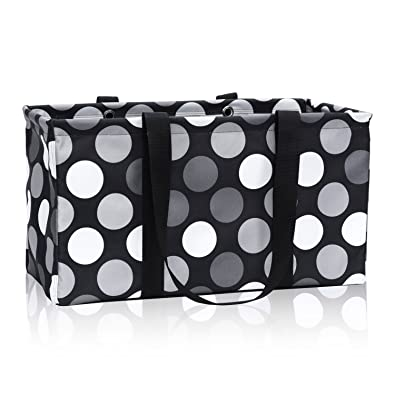 9076d44dc7f3 Thirty One Large Utility Tote in Got Dots - No Monogram - 3121