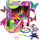 Rainbow Tree Crafts Fashion Headbands for Girls - Fashion DIY Headbands Making Kit Arts Crafts