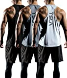 TSLA Men's (Pack of 1 or 3) Workout Muscle Tank