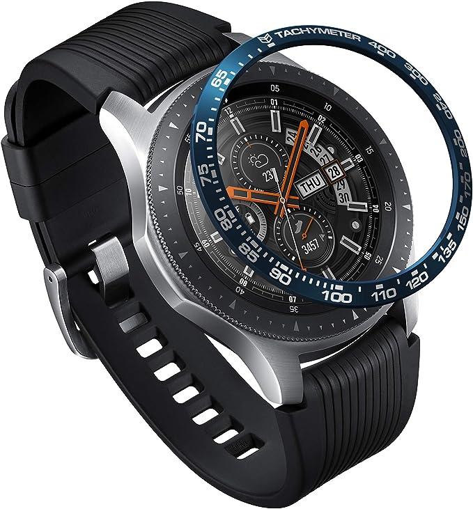 Ringke Bezel Styling para Galaxy Watch 46mm / Galaxy Gear S3 Frontier & Classic, Bisel Anillo Cubrir Anti-rasguños Proteccion: Amazon.es: Electrónica