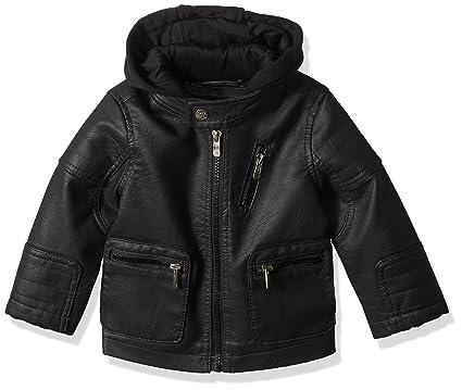 3cd79fc61fa4 Amazon.com  Urban Republic Baby Boys Artsy Faux Leather Jacket with ...